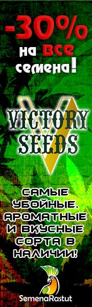 -30% на все семена Victory Seeds!